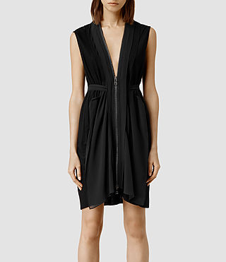 Womens Levia Dress (Black)