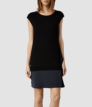 Womens Miro Dress (Black/Ink)