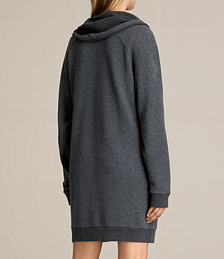 Women's Kaye Sweat Dress (MID CHARCOAL MARL) - product_image_alt_text_7