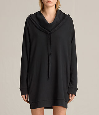 Womens Kaye Sweat Dress (Black)