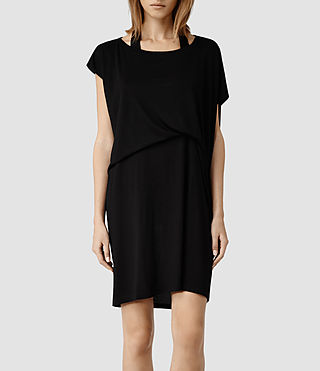 Womens Pari Dress (Black)