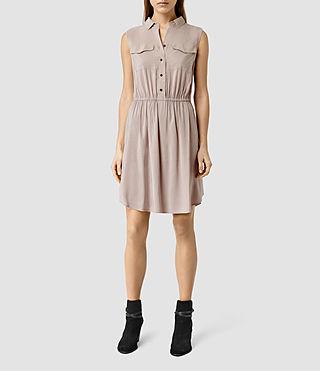 Womens Itaca Dress (ROSE PINK)