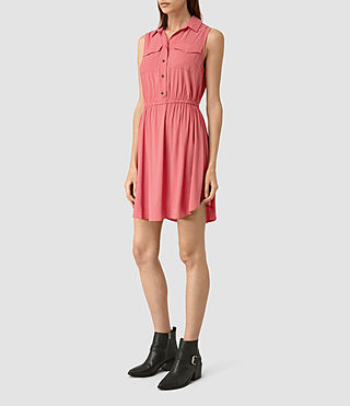 Damen Itaca Dress (SORBET PINK) - product_image_alt_text_3