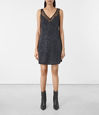 Damen Aivren Embellished Dress (Black)