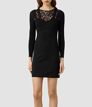 Womens Helis Dress (Black)