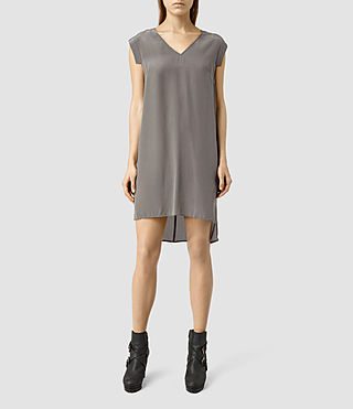Donne Tonya Vik Dress (Slate Grey)