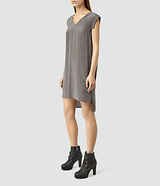 Women's Tonya Vik Dress (Slate Grey) - product_image_alt_text_2