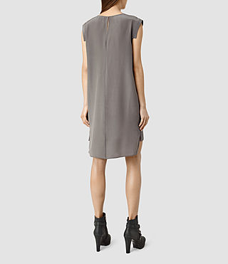 Women's Tonya Vik Dress (Slate Grey) - product_image_alt_text_3