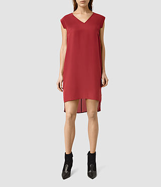 Womens Tonya Vik Dress (SAHARA RED)