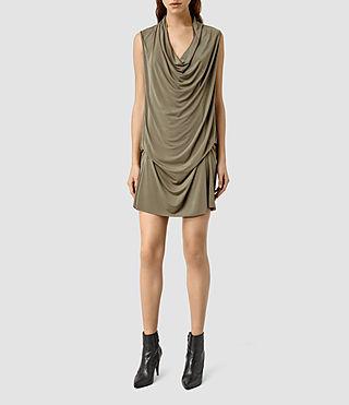 Women's Amei Sl Dress (Khaki Green)