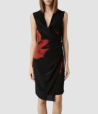 Womens Meja Burnt Rose Dress (Burnt Rose)
