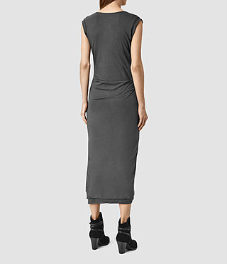 Women's Gamma Dress (PIRATE BLACK) - product_image_alt_text_3