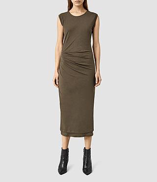 Womens Gamma Dress (WREN BROWN)