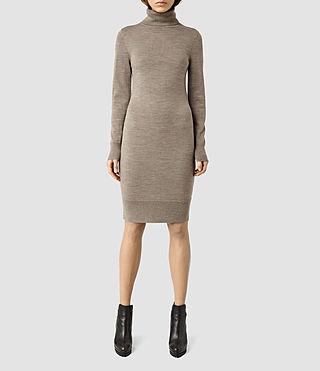 Womens Albar Dress (LUNAR GREY)