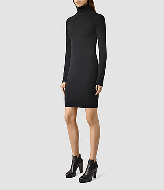 Womens Albar Dress (Black)