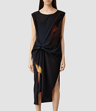Women's Riviera Ochre Dress (Ochre)