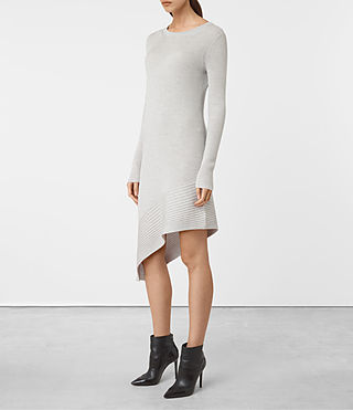 Women's Keld Dress (Stone Grey) - product_image_alt_text_3