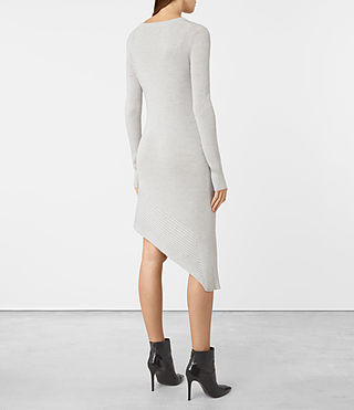 Womens Keld Knitted Dress (Stone Grey) - product_image_alt_text_4