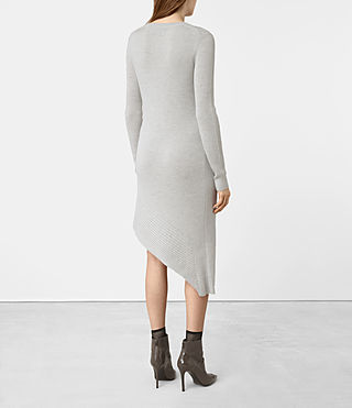 Womens Keld Knitted Dress (Stone Grey) - product_image_alt_text_5