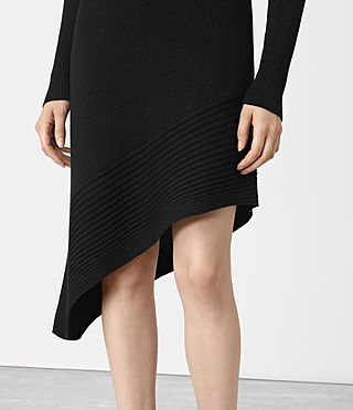 Mujer Keld Dress (Black) - product_image_alt_text_2