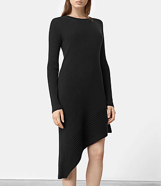 Mujer Keld Dress (Black) - product_image_alt_text_3