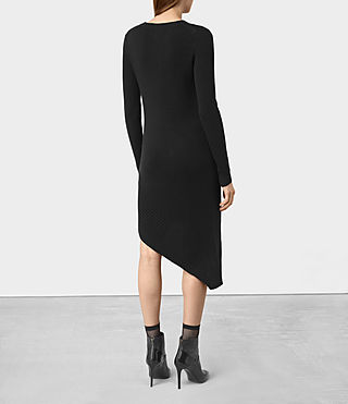 Mujer Keld Dress (Black) - product_image_alt_text_5