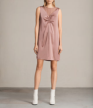 Women's Nuri Dress (MAUVE PINK) - Image 1