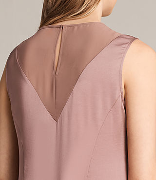 Women's Nuri Dress (MAUVE PINK) - Image 2