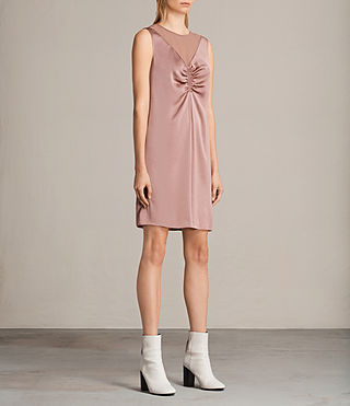 Women's Nuri Dress (MAUVE PINK) - Image 3