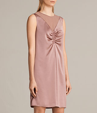 Women's Nuri Dress (MAUVE PINK) - Image 5