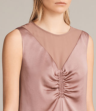 Women's Nuri Dress (MAUVE PINK) - Image 7