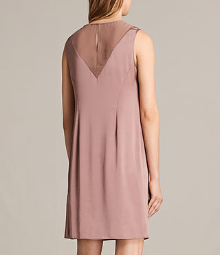 Women's Nuri Dress (MAUVE PINK) - Image 8