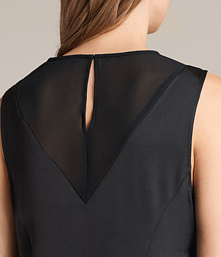 Women's Nuri Dress (Black) - product_image_alt_text_2