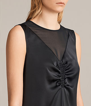 Women's Nuri Dress (Black) - product_image_alt_text_3