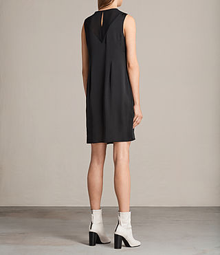 Women's Nuri Dress (Black) - product_image_alt_text_8
