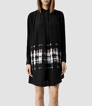 Womens Raina Hex Dress (Hex Check)