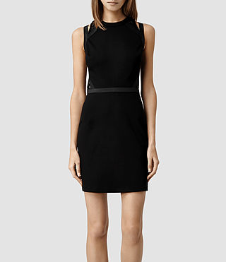Womens Kiro Dress (Black)