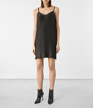 Damen Merin Dress (Umber Brown)