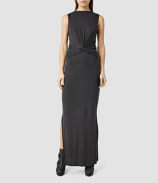 Womens Mia Dress (COAL BLACK)