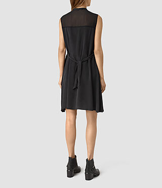 Mujer Jayda Dress (Black) - product_image_alt_text_6