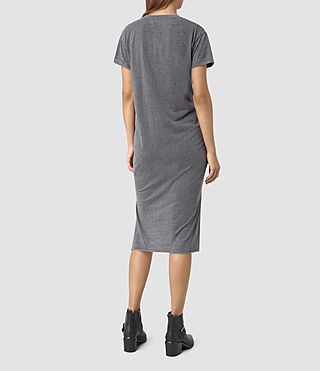 Damen T-Rivi Dress (COAL BLACK/ASH GRY) - product_image_alt_text_5