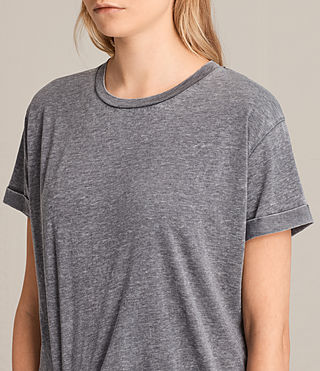 Damen T-rivi Dress (COAL GREY) - Image 3