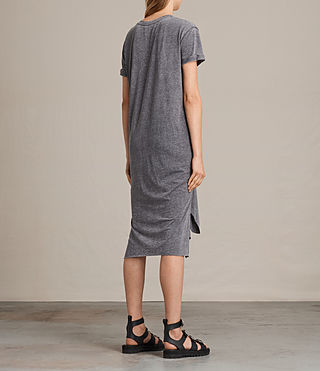 Femmes Robe T-Rivi (COAL GREY) - product_image_alt_text_6