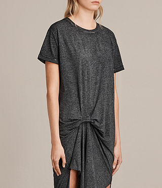 Womens T-Rivi Dress (ASH/BLACK) - Image 5