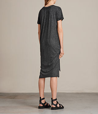 Womens T-Rivi Dress (ASH/BLACK) - Image 6
