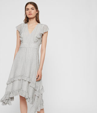 Evia Embroidered Dress