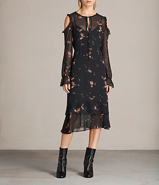 Women's Marissa Maize Dress (Black) - Image 1