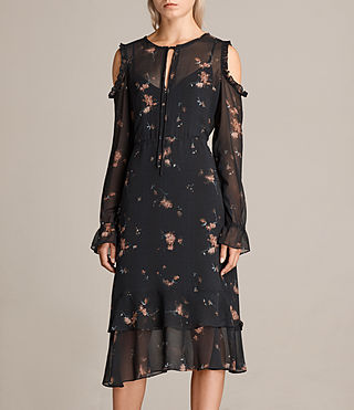 Women's Marissa Maize Dress (Black) - Image 3