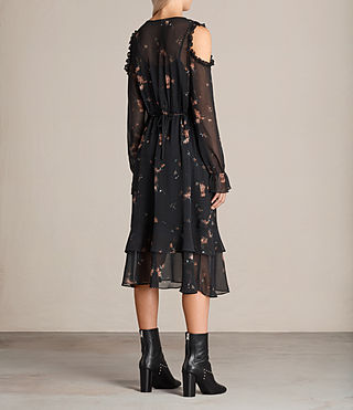 Women's Marissa Maize Dress (Black) - Image 9