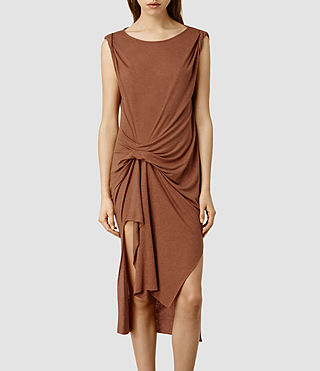 Womens Riviera Sabi Dress (Rose Marl)